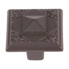 Craftsman 1-1/2 Inch Diameter Aged Bronze Cabinet Knob