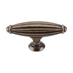 Tuscany 2-5/8 Inch Length German Bronze Cabinet Knob <small>(#M150)</small>