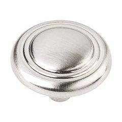 Vienna 1-1/4 Inch Diameter Satin Nickel Cabinet Knob