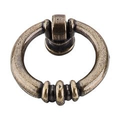 Tuscany 1-5/8 Inch Length German Bronze Cabinet Ring Pull