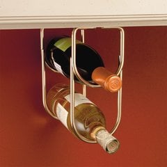 Double Bottle Holder - Brass