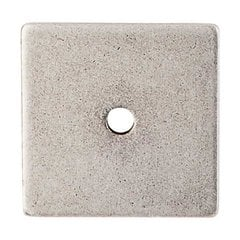 Sanctuary 2-5/8 Inch Length Pewter Antique Back-plate <small>(#TK95PTA)</small>