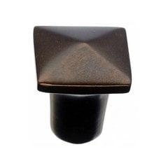 Aspen 3/4 Inch Diameter Mahogany Bronze Cabinet Knob <small>(#M1508)</small>