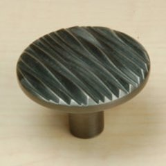 Dolce 1-3/4 Inch Diameter Antique Pewter Cabinet Knob