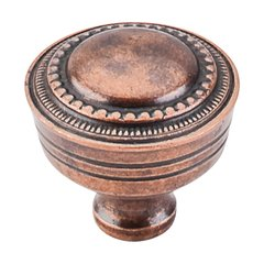 Tuscany 1-1/4 Inch Diameter Old English Copper Cabinet Knob <small>(#M201)</small>