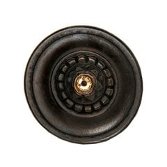 King's Road 1-1/4 Inch Diameter Dark Brass Cabinet Knob <small>(#NHK-210-DB)</small>