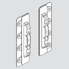 Aventos Arm Assembly Mounting Plate with Bracket Set
