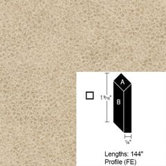 Wilsonart Bevel Edge - Western Suede - 12 Ft