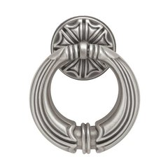 French Romantics 2-7/16 Inch Diameter Brushed Satin Pewter Cabinet Ring Pull <small>(#PBF136-BSP-C)</small>
