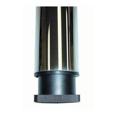 """Peter Meier Prisma Table Leg Set Gloss Black 27-3/4"""" H 330-70-BK"""
