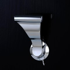 UltraLatch for 2 inch Door with Privacy Latch Bright Chrome