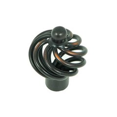 Sheffield 1-3/8 Inch Diameter Oil Rubbed Bronze Cabinet Knob <small>(#CP81494-OB)</small>