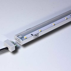 "12"" High Output LED Strip 3000K Nickel <small>(#L-LED-SMP12-WNI-1)</small>"