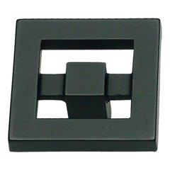 Nobu 1-3/8 Inch Diameter Black Cabinet Knob