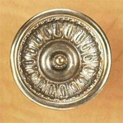 Chalice 2-1/8 Inch Diameter Monticello Silver Cabinet Knob