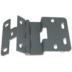 #74 Five Knuckle Overlay Institutional Hinge - Chrome Powder Coat