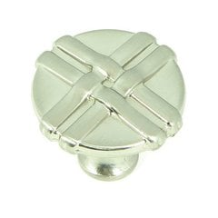 Sheffield 1-3/8 Inch Diameter Satin Nickel Cabinet Knob <small>(#CP1492-SN)</small>