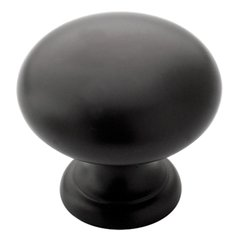 Solid Brass 1-1/4 Inch Diameter Natural Bronze Cabinet Knob