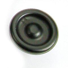Foundry 1-1/4 Inch Diameter Matte Black Cabinet Knob
