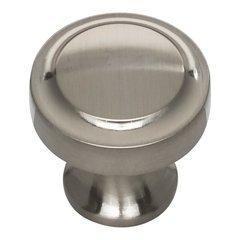 Bradbury Knob 1-1/4 inch Diameter Brushed Nickel