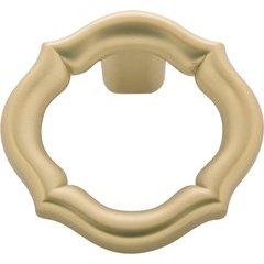 Trellis Rigid Pendant Knob 2 inch Diameter Flat Ultra Brass