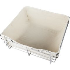 Canvas Basket Liner for POB1-16176 Basket - Tan