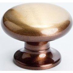 Valencia 1-3/16 Inch Diameter Brushed Bronze Cabinet Knob