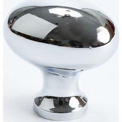Valencia 1-3/16 Inch Diameter Polished Chrome Cabinet Knob