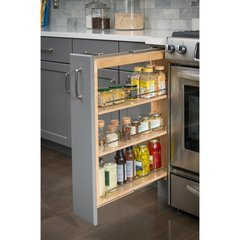 3 x 23 x 30 Inch Base Cabinet Filler Pullout