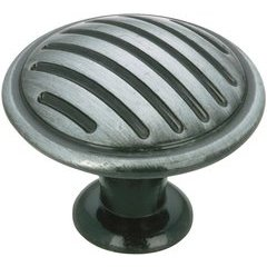 Traditional 1-3/16 Inch Diameter Knobs with Antique Iron Finish <small>(#BP16930903)</small>