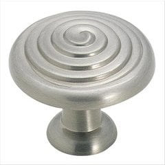 Divinity 1-1/4 Inch Diameter Satin Nickel Cabinet Knob <small>(#BP19252G10)</small>
