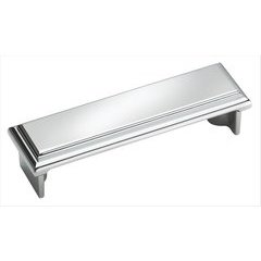 Manor 3 Inch Center to Center Polished Chrome Cabinet Pull <small>(#BP2613026)</small>