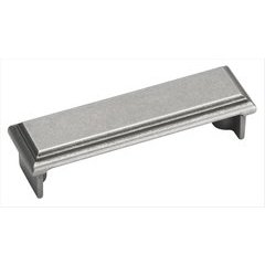 Manor 3 Inch Center to Center Weathered Nickel Cabinet Pull