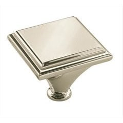 Manor 1-7/16 Inch Diameter Polished Nickel Cabinet Knob