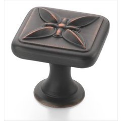 Sundara 1-1/8 Inch Diameter Oil Rubbed Bronze Cabinet Knob