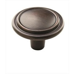 Knob 1-1/4 inch Diameter Oil Rubbed Bronze