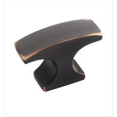 Conrad 1-1/2 Inch Length Oil Rubbed Bronze Cabinet Knob