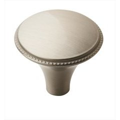 Atherly 1-3/16 Inch Diameter Satin Nickel Cabinet Knob