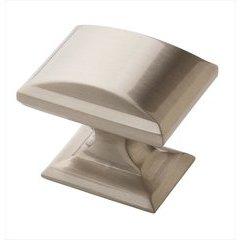 Candler 1-1/4 Inch Diameter Satin Nickel Cabinet Knob