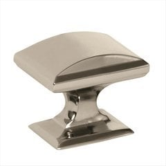 Candler 1-1/4 Inch Diameter Polished Nickel Cabinet Knob <small>(#BP29340PN)</small>