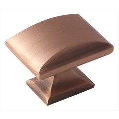 Candler 1-9/16 Inch Diameter Brushed Copper Cabinet Knob
