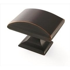 Candler 1-9/16 Inch Length Oil Rubbed Bronze Cabinet Knob