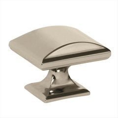 Candler 1-1/2 Inch Diameter Polished Nickel Cabinet Knob <small>(#BP29368PN)</small>