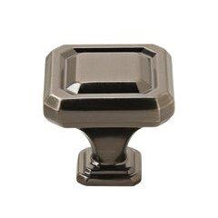 Wells Knob 1-1/4 inch Diameter Gunmetal <small>(#BP36546GM)</small>
