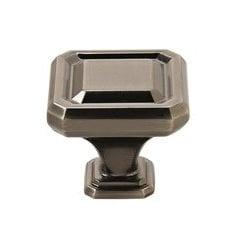 Wells Knob 1-1/2 inch Diameter Gunmetal <small>(#BP36547GM)</small>