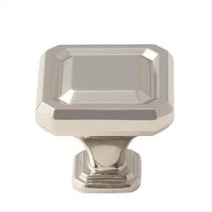 Wells 1-1/2 Inch Diameter Polished Nickel Cabinet Knob <small>(#BP36547PN)</small>