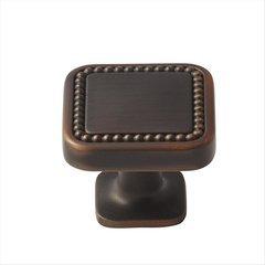 Carolyne 1-1/4 Inch Diameter Oil Rubbed Bronze Cabinet Knob