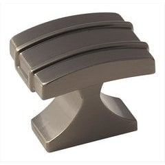 Davenport 1-1/4 Inch Diameter Gunmetal Cabinet Knob