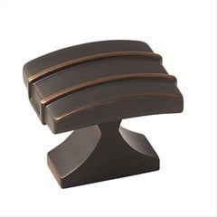 Davenport 1-1/2 Inch Diameter Oil Rubbed Bronze Cabinet Knob <small>(#BP36602ORB)</small>