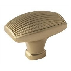 Sea Grass 1-1/2 Inch Diameter Golden Champagne Cabinet Knob